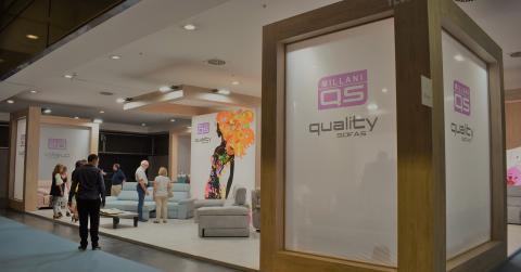 Quality Sofás Feria Habitat Valencia 2019