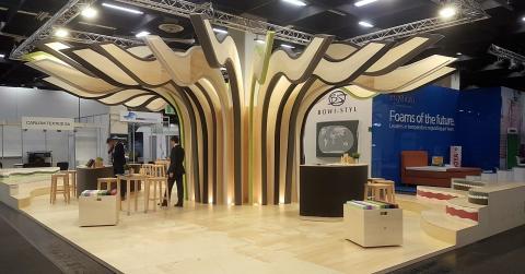 Interplasp Feria Interzum Colonia, Alemania 2017